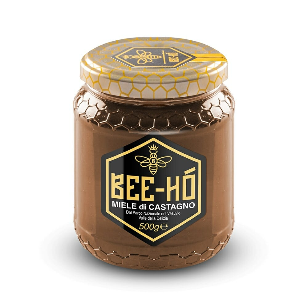 Bee Ho Miele Bio di Castagno del Vesuvio - 500 gr