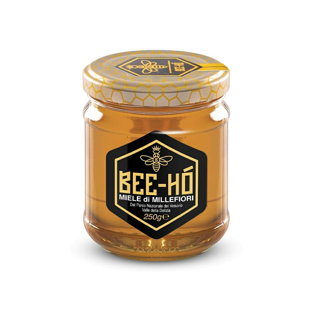 Bee Ho Miele Bio Millefiori del Vesuvio - 250 gr