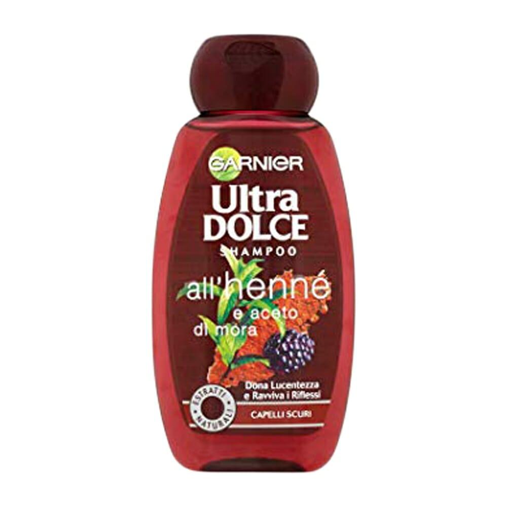 Garnier Ultra Dolce Shampoo Henne Aceto e Mora - 250 ml