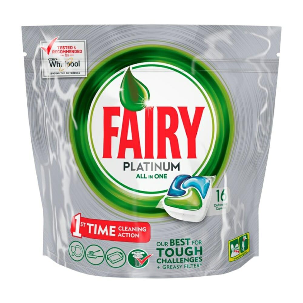 Fairy Tutto in 1 Platinum Classico Lavastoviglie - 16 Caps