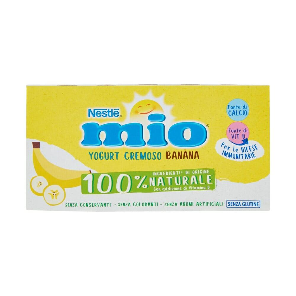 Nestle Mio Yogurt Cremoso con Banana - 2 x 125 gr