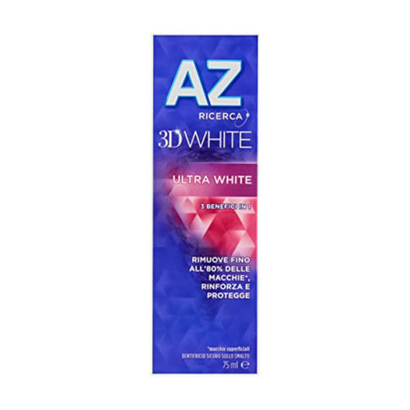 AZ Dentifricio 3D Ultra White - 75 ml